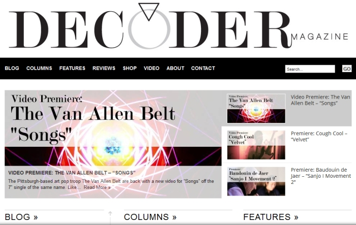 The Van Allen Belt Decoder Mag