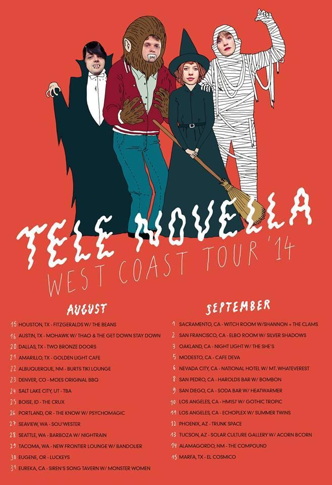 TeleNovellaTourPosterFall2014